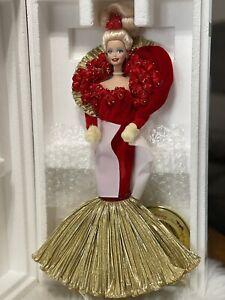 50th Golden Anniversary 1995 Porcelain Barbie Doll W/shipper Box
