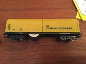 Lux Gleis Schleifwagen 9131 H0 DC Zweileitersystem