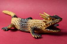 Vintage 80's horned lizard rubber monster reptile dragon lagarto cornudo New