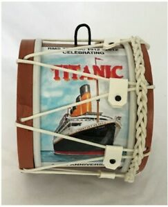 RMS Titanic Souvenir Miniature Lambeg Drum