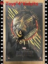 Hot Toys MMS 471 Black Panther Erik Killmonger Michael B. Jordan 1/6 Figure NEW