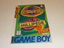 Centipede Millipede Vidpro Card Nintendo Gameboy Game Boy Promo Vid Pro