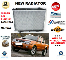 FOR NISSAN PICK UP D22 RADIATOR 2002->2004 2.5 Di 4WD MANUAL GEARBOX OE QUALITY