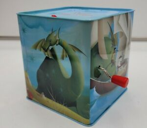 Kids Preferred Puff the Magic Dragon Jack in the Box Musical Wind-Up Toy