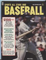 Sports All Stars 1966 Baseball Willie Mays Stan Musial Joe Garagiola 082520DBE