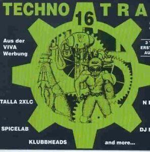 Techno Trax 16 (1996) Kaylyn, Zero Gravity, Klubbheads, DFM, Spicelab.. [2 CD]