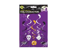 Halloween Remolino Decoraciones Paquete de 10 caracteres aterrar a sus y espantosos