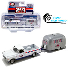 ACME x Greenlight 1/64 - 1968 Chevrolet C-10 with Airstream Bambi Sport Camper