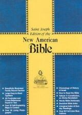 Saint Joseph Edition of the New American Bible, Deluxe Edition, Red Bonded Leath
