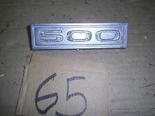 1964 1965 1966 1967 1963 FORD GALAXIE 500 EMBLEM FENDER 1/4 TRIM GARNISH MOLDING