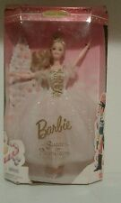 1996 Nutcracker Sugar Plum Fairy Ballerina Barbie Doll # 17056 New In Box