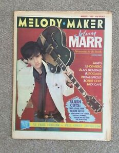 Melody Maker Magazine - 3 August 1985 Johnny Marr - the Smiths -Prefab Sprout