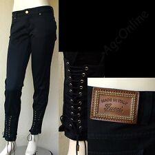 GUCCI New sz 4 - 40 $800 Auth New Womens Designer Leggings Pants Jeans Black