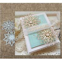 Flowers Metal Cutting Dies Paper Card Making DIY Embossing Frames Craft Stencils