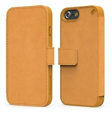 PureGear Protective Express Folio Wallet Cover Case for iPhone 6 Plus 6S - Camel