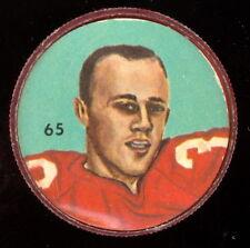 1963 CFL NALLEY'S POTATO FOOTBALL COIN #65 Bill Wayte EX-NM Montreal Alouettes