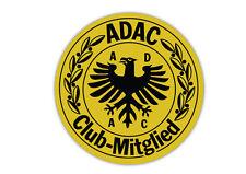 Aufkleber ADAC Automobilclub Mitgliede Car Sticker Van Caravan Motorbike 10x10cm