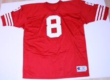 Men's San Francisco 49ers #8 Steve Young 2XL (52) Vintage Jersey (Red) Champion