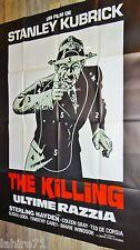 stanley kubrick THE KILLING l'ultime razzia !   affiche cinema modele rare