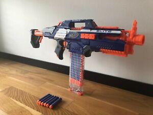 Nerf Rapid Strike CS-18 incl.16 Elite Pfeilen Schnellfeuerabzug