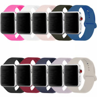 Apple Watch Band Silicone for 38mm 42mm Apple Watch Series 3, 2, 1, Nike+