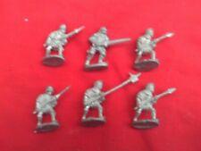 28mm figuras con mezcla de armas medievales tarde ADVANCING.X 6 Nuevo