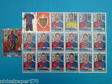 Topps Champions League 2016-17 2017 Team Basel 2016 2017 completo
