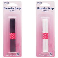 Hemline Elastic Shoulder Strap 1.5 x 15mm Bra Strap