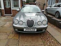 Jaguar s type v6 se 2.5ltr. 2003, automatic/manual.10 mths mot, 117,000m, petrol