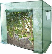 Tomato / Vegetable Greenhouse / Growbag With Reinforced Cover & Side Ventilation