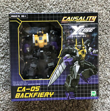 FansProject Transformers Causality: Backfiery Action Figure - NIB Factory Sealed