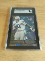 1997 Skybox Metal Universe Barry Sanders SGC 9! High Grade!