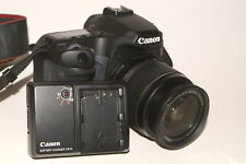 Canon EOS 40D camera with Canon EF-S f3.5-5.6 18-55mm image stabilised lens