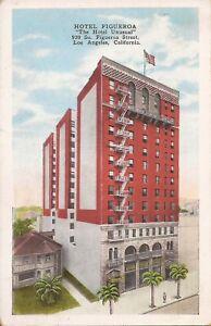 "Los Angeles, CALIFORNIA - Hotel Figueroa - ""The Hotel Unusual"" 1929 - Palm Trees"