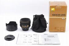 [AB Exc+] Nikon AF-S NIKKOR 58mm f/1.4 G SWM ASPH Lens for D610 D800 JAPAN Y3879