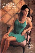 Frederick's of Hollywood PEGGY TRENTINI Brandi Brandt APRIL WAYNE 1991 Catalog