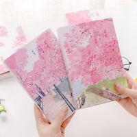 """Sakura Cat Sketchbook"" 1pc Big Cute Kawaii Drawing Notepad Blank Paper Notebook"