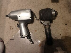 4K-pair of pneumatics craftsman tools-working 1/2 inch air impact wrench  etc