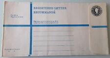 UNUSED REGISTERED LETTER QEII 3'4 - K SIZE ENVELOPE