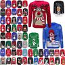 Xmas Unisex Christmas Jumper Sweater Retro Novelty Vinatage Ladies Mens Kids New