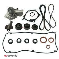 Fits MITSUBISHI OUTLANDER 2.4L l4 SOHC N/A Timing Belt Kit Water Pump