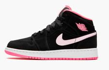 Nike Jordan 1 Mid GS Black Digital Pink Youth Kids Women