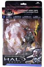 """Halo Reach Series 5 6"""" Scale Covenant Spec Ops 2-Pack (Camouflage Elite + Grunt)"""