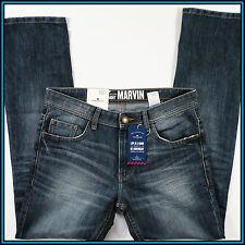 TOM TAILOR MARVIN MEN'S JEANS 31/32 STRAIGHT LEG BLUE DENIM
