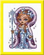 Snow-maiden - Cross Stitch Kit with Color Symbolic Scheme SKU:716