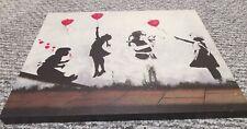 Banksy canvas L50cm H40cm D2.5cm