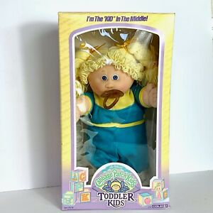 Cabbage Patch Toddler Kids Blonde Girl Pacifier Amelia Glenice Kid In The Middle