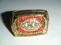 World Champions 1987 WASHINGTON REDSKINS Football Super Bowl XXII Replica Ring