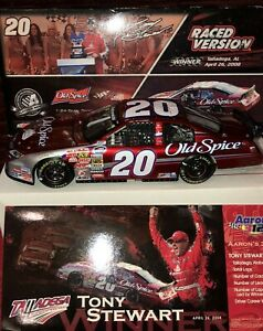 TONY STEWART 2008 OLD SPICE TALLADEGA WIN 1/24 ACTION DIECAST TOYOTA CAR 1/1,270