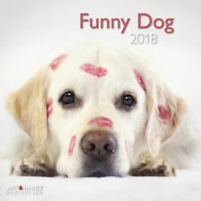 CALENDRIER 2018 - FUNNY DOGS - 30 x 30 cm